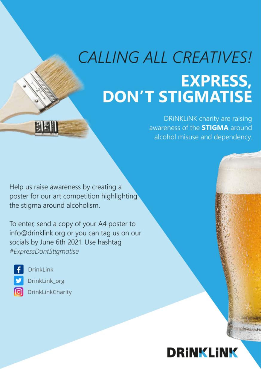 Stigma Art Competition DrinkLink Aberdeen